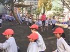 保育園の目の前にあります、幼稚園の様子です